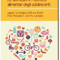 Workshop 'LE ABITUDINI E I DISTURBI...'